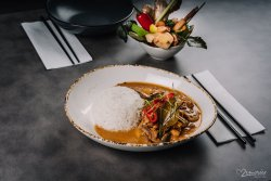 Panang Curry legume & tofu image
