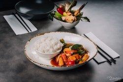 Sweet & Sour legume & tofu image
