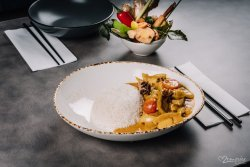 Yellow Curry legume & tofu image