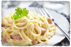 Spaghette carbonara