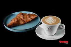 Cappuccino & Croissant cu unt image