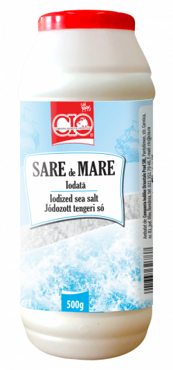 CIO Sare de Mare Iodata, 500g image