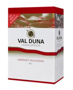 Val Duna, Cabernet Sauvignion, BiB 3L, Domeniile Oprisor image