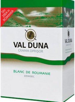 Val Duna, Blanc de Roumanie, BiB 3L, Domeniile Oprisor image