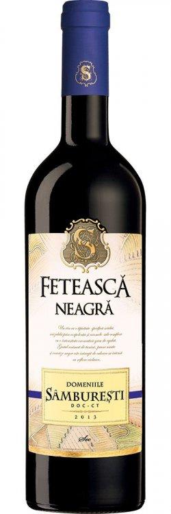 Feteasca Neagra , sec, 0.75L, Domeniile Samburesti image