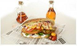 Sandwich snitel de pui pui panini image
