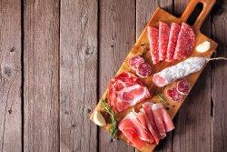Platou de salamuri și brânzeturi italienești image