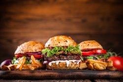 Burger pulled pork image