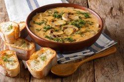 Supă crema de ciuperci - lacto veg image