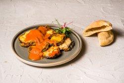 Parmigiana cu vinete și mozzarella image