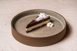 Raw cake cu ciocolată și cocos image