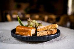 Foie gras de ciuperci și linte cu jeleu de măceșe image