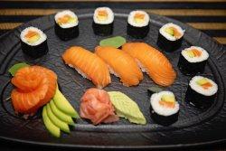 Salmon Menu image