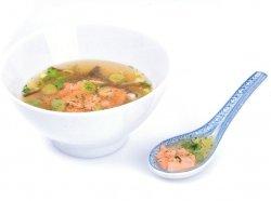 Supă Miso cu Somon