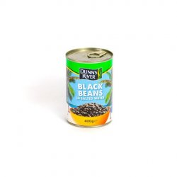Dr black beans in salted water image