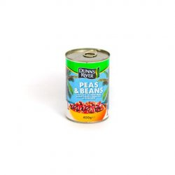 Dr peas & beans in salted water