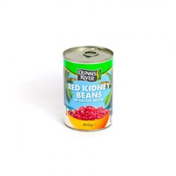 Dr red kidney beans in salted water image
