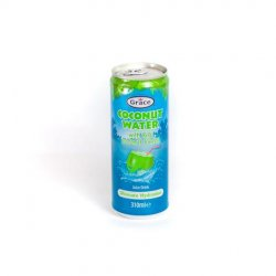 Grace coconut water with real coconut pieces image