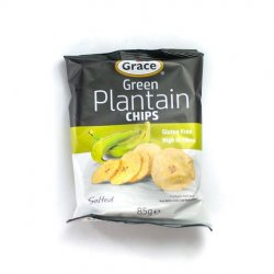 Grace green plantain chips image