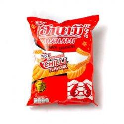 Hanami chilli flavour prawn crackers image
