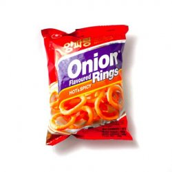 Nongshim onion rings (hot & spicy) image