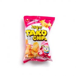 Nongshim tako chips (seafood flavour)