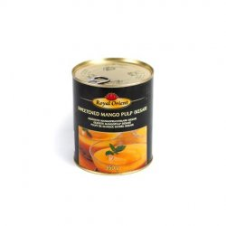 Royal orient sweetened mango pulp (kesar)