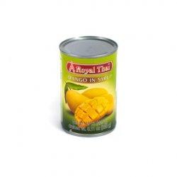 Royal thai mango in syrup image