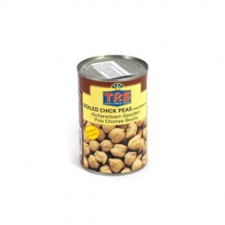 Trs boiled chick peas in salted water image