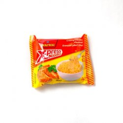 Wai wai x-press instant noodles creamy chicken flavour image