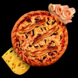Bacon Cheddar for kids image