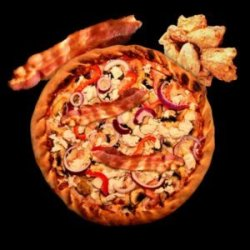 Pizza Chicken Bacon for Kids image