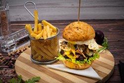 O'Brothers Cheeseburger image