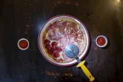 Pizza quatro carni image