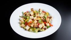 Salată halloumi și avocado image