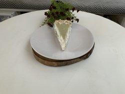 Matcha pistachio cheesecake image