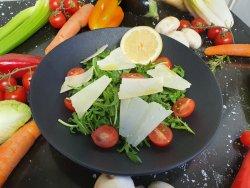 Insalata rucola e parmigiano