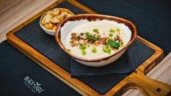 Supă cremă de țelină și gorgonzola image