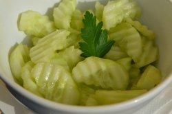 Salată de castraveți verzi/Cucumbers salad image
