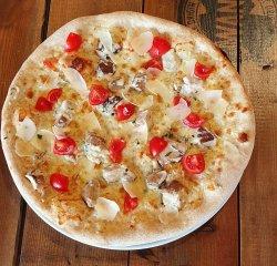 Pizza Porcini Bianco