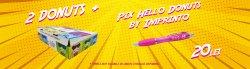 2 Donuts plus Pix personalizat by Imprinto image