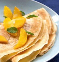 Mango Crepes image