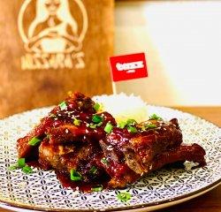 Coaste de porc în stil chinezesc cu orez jasmine image