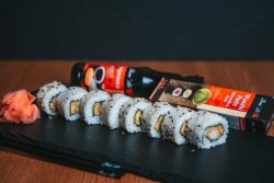 Sushi Uramaki Tempura Roll  image