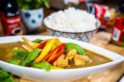 Thai Green Curry Chicken image