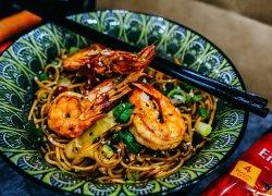Shrimps Chow Mein