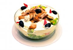 Salata de pui la gratar