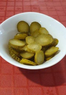 Salată de castraveți murați/ în oțet image
