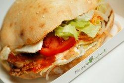 02. Fresh Kebab vițel cu mozzarella