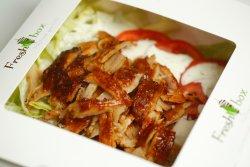 04. Fresh Kebab de vițel la farfurie